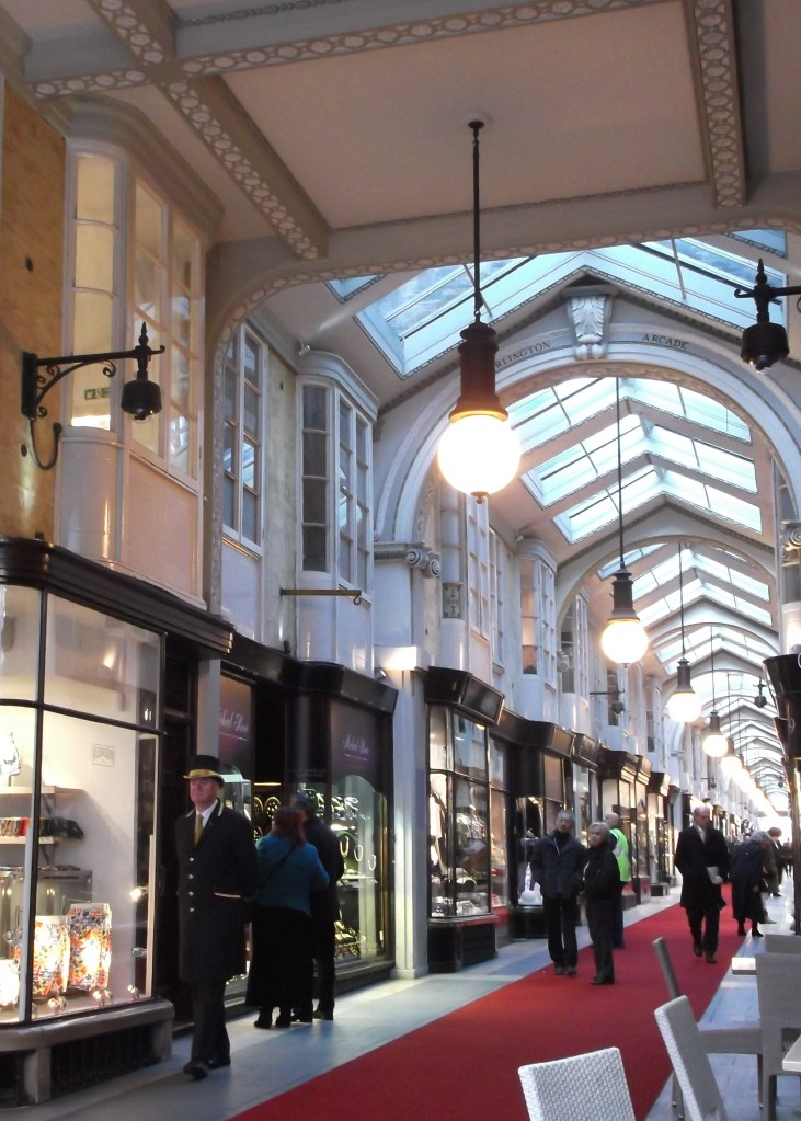 Burlington Arcade - 15 minute walk