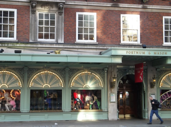 Fortnum and Mason - 15 minute walk