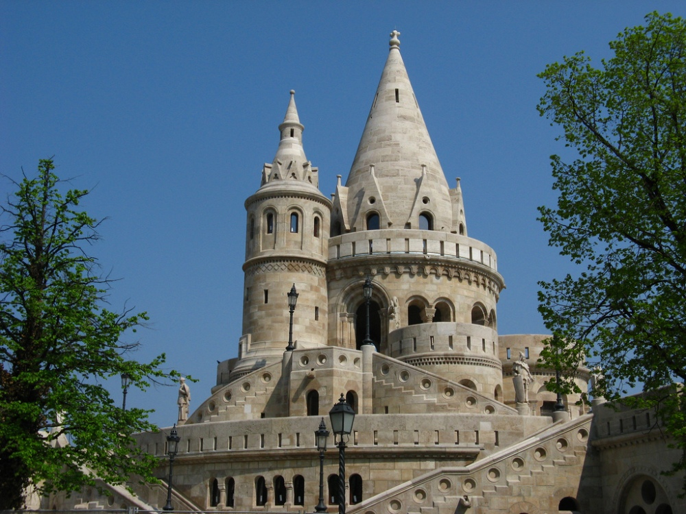 The Fisherman's Bastion; photo courtesy of speedygroundhog
